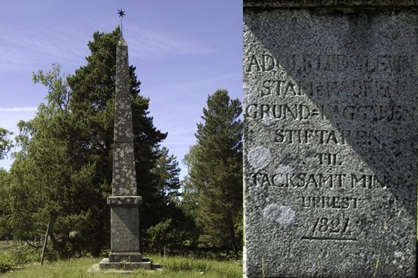 Obelisken, Ludvigsberg