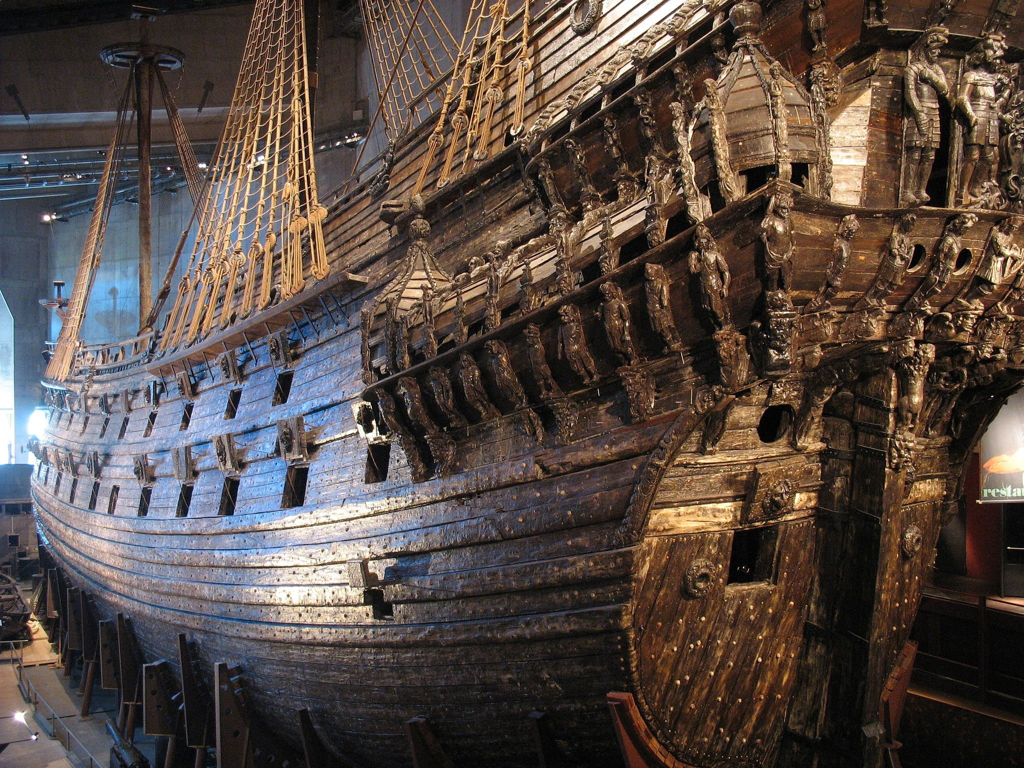 Regalskeppet Vasa. Foto: Peter Isotalo, via Wikimedia Commons