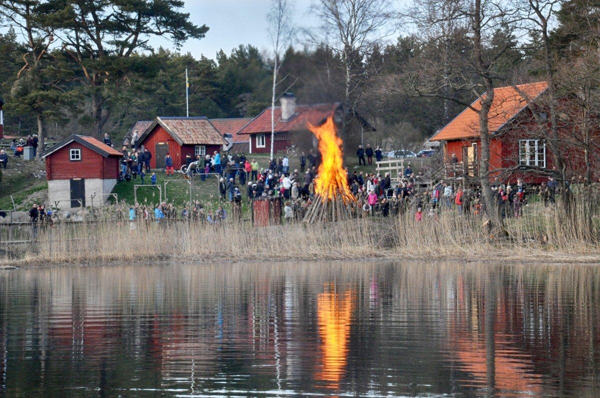 Valborg på Muskö 2016. Foto: Bengt Grönkvist