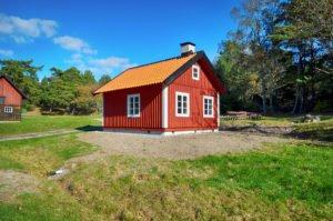 Fattigstugan på Grytholmen. Foto: Bengt Grönkvist