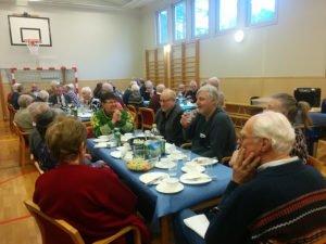 Muskö pensionärsförening 25 år! Foto: Peppe Ohlsson
