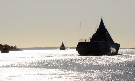 Försvaret övar ubåtsjakt i skärgården