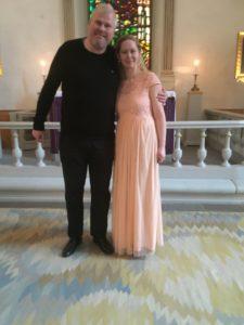 Johanna Martell och Rickard Backlund