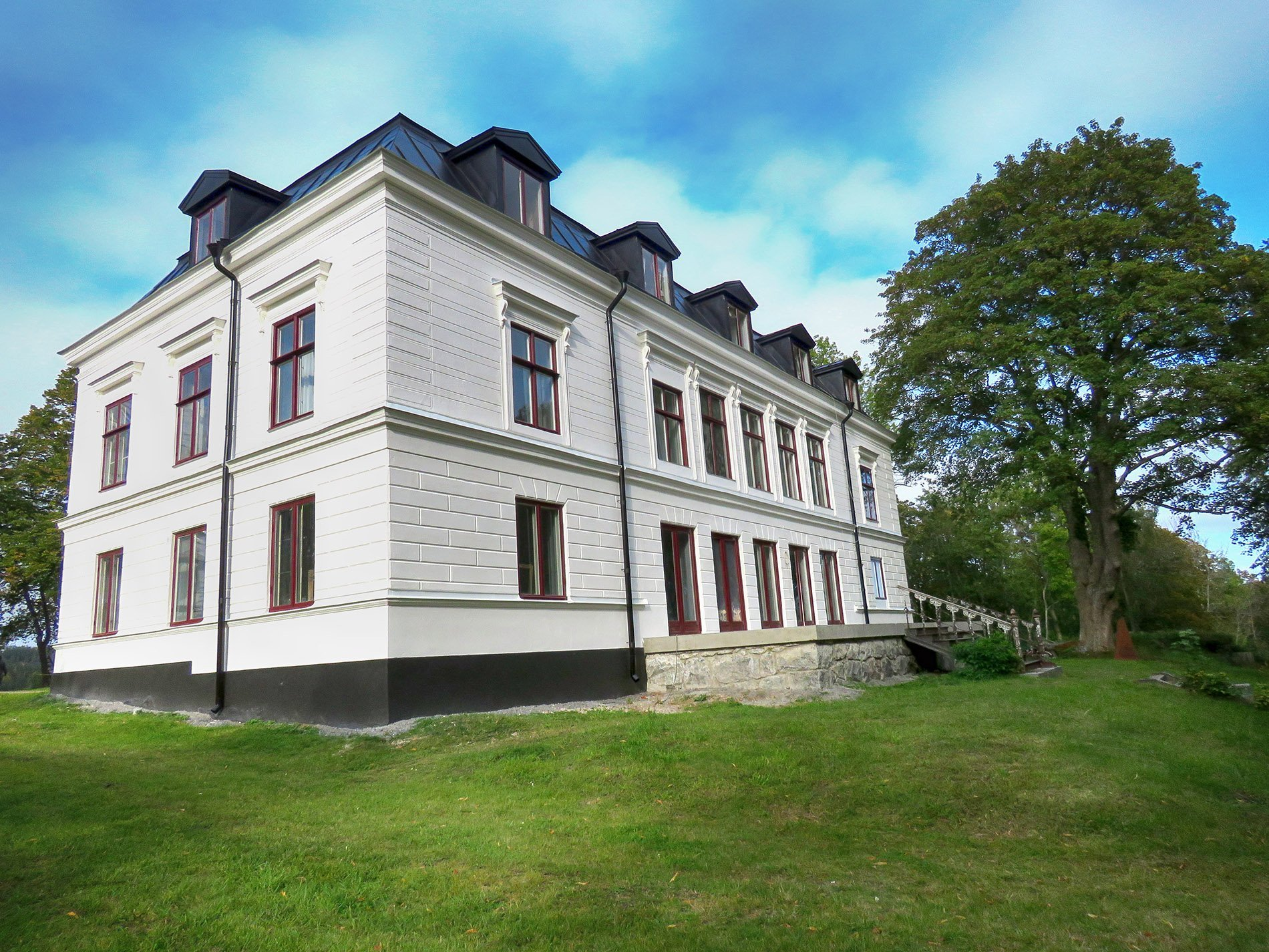 Drömgården Arbottna Säteri. Foto: Bengt Grönkvist