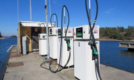 Nya pumpar på sjömacken – med kortläsare