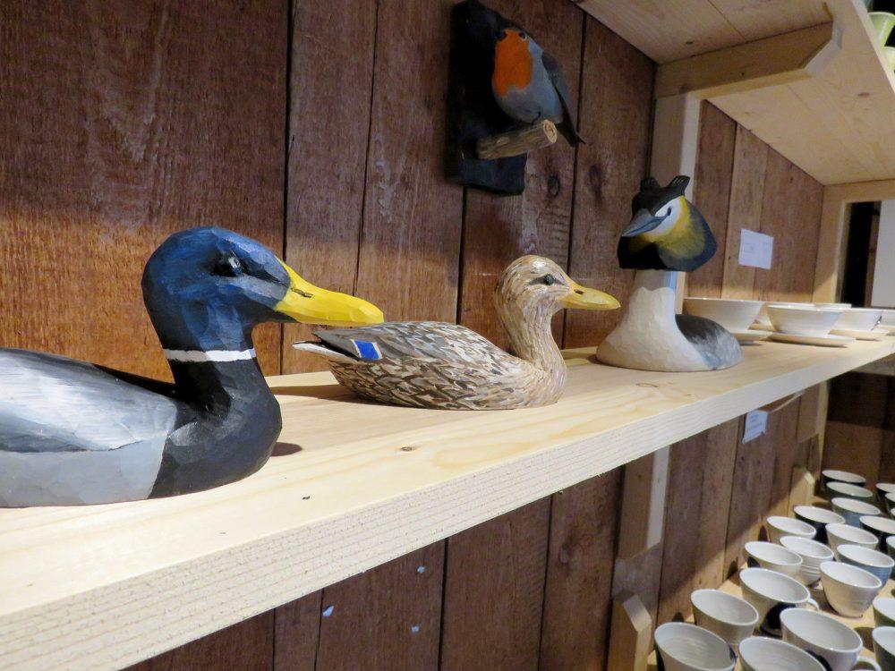 Gårdsbutiken och galleriet på Arbottna har öppnat för säsongen