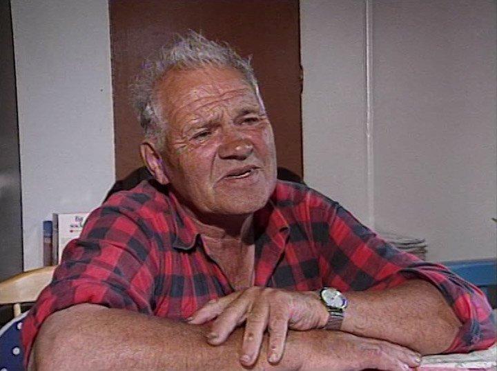 """""""Nisse – skärgårdsbonde"""" är en film om Nisse Rundberg som bott på gården Näsängen på Muskö i hela sitt liv."""
