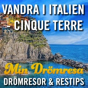 Vandra i italien - Cinque Terre - Min Drömresa