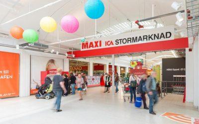 ICA-Maxi Nynäshamn har börjat med hemkörning till Muskö