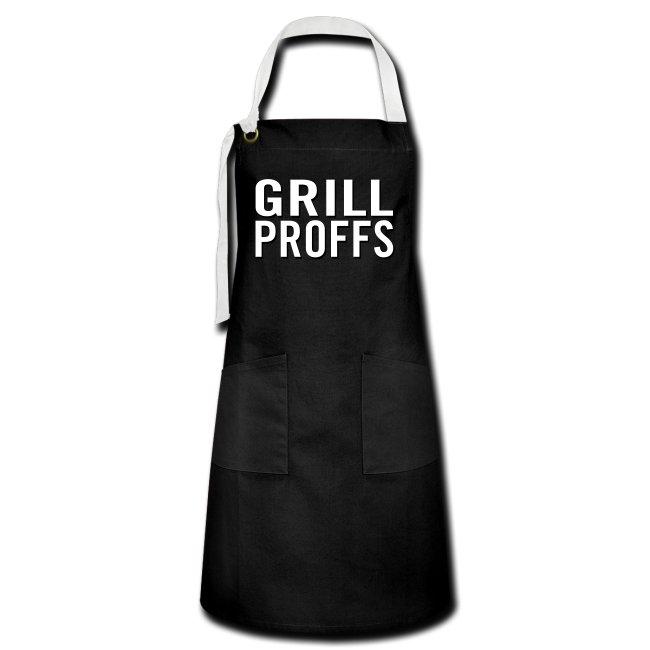 GRILLPROFFS - Kläder för riktiga proffsgrillare - Kontrastförkläde