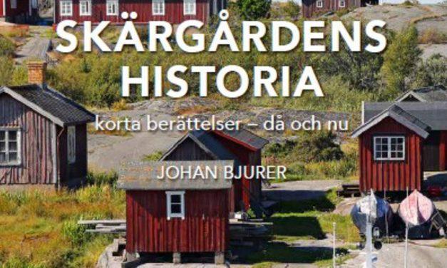 Ny bok! Skärgårdens historia – korta berättelser då och nu